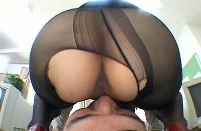 big ass, face sitting, fucked, pantyhose, pussy, stockings,