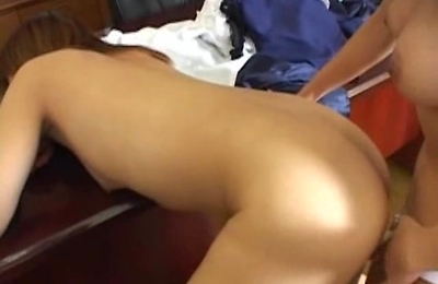 lesbians,office,pussy licking,strapon,
