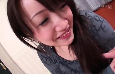 big tits,brunette,fingering,shizuku morino,