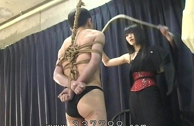 bdsm, bondage, pussy licking, queen, rei, slave,