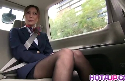 beautiful, masturbation, stewardess, yuna shiina,