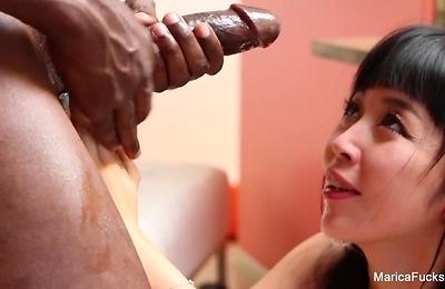 big cock,blowjob,interracial,small tits,
