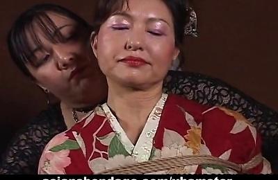 bdsm,bondage,kimono,milf,