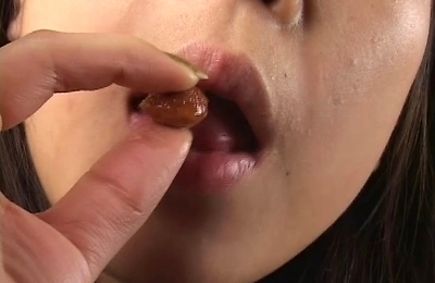 beautiful, food insertion, lesbians,