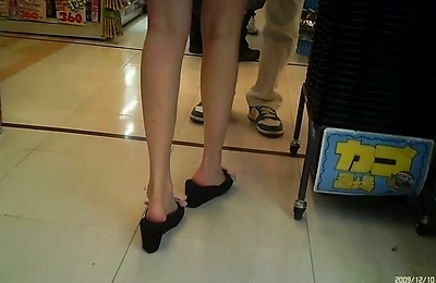 amateur, beautiful, foot fetish, hidden cams, legs, voyeur,