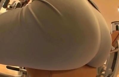 amateur,big ass,gym,