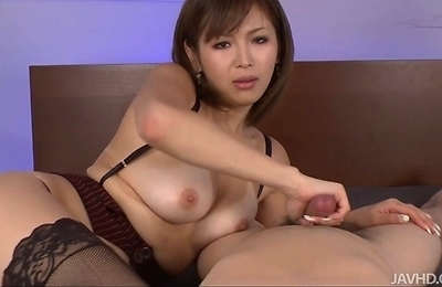 bedroom, horny, hot milf, mai, sexy japanese, sunburnt skin,
