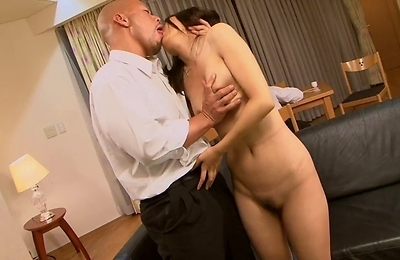 blowjobs,brunette,facialized,hairy pussy,nylon,public place,pussy,