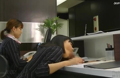 blowjob, cum in mouth, office,