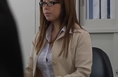 beautiful, big tits, milf, office,