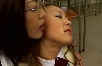 bukkake, cum in mouth, cum swallow,
