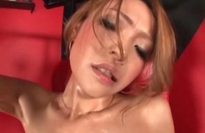 bikini,hot milf,oiled body,sex toys,