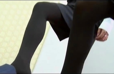 bdsm, foot fetish, footjob, stockings,