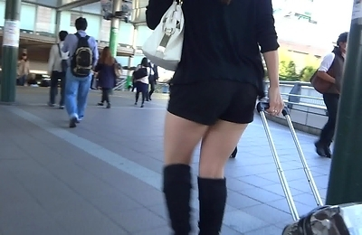 big ass, high heels, legs, sexy japanese, voyeur,