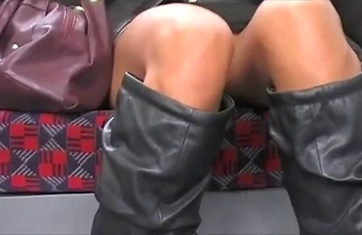panties,shaved pussy,skirt,upskirt,voyeur,
