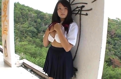 ai shinozaki, big tits, natural tits, school, school uniform,