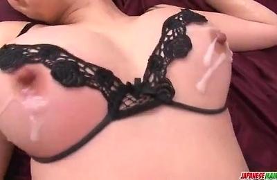 akari asagiri,anal,cam,creampie,double penetration,fucked,milf,