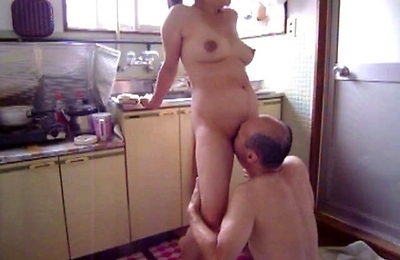 amateur, hot milf, kitchen, milf,