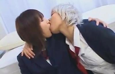 kissing,lesbians,softcore,