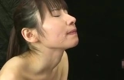 cum in mouth, cumshots, facialized, yuki,