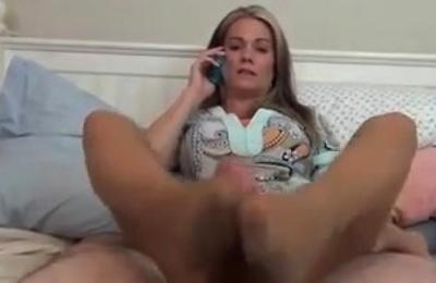 footjob,hot milf,masturbation,moms,