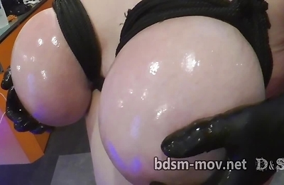 ball licking, bdsm, slave,