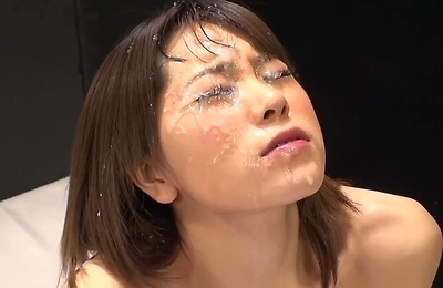 cum in mouth, cumshots, facialized, reina,