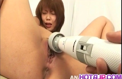 ass, fingering, kaede oshiro, sex toys, shaved pussy, vibrator,