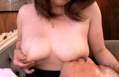 big tits, breast milk, hand work, housewife, milking tits,