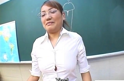 blowjob, cfnm, college, hand work, teacher,