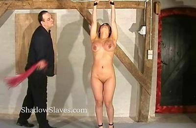 bdsm,big tits,bondage,clit,shaved pussy,slave,