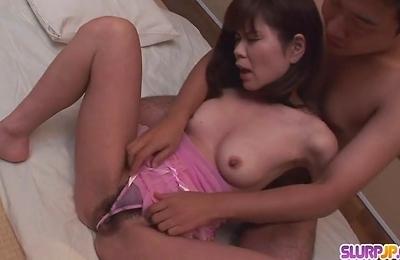 fucked,hardcore action,lingerie,yukari,