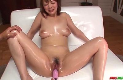 arisa,big tits,milf,sex toys,