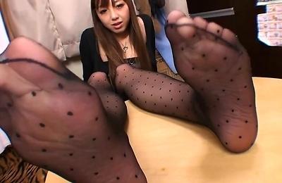 foot fetish,pantyhose,stockings,