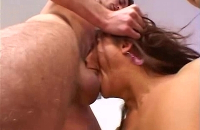 ass,big cock,fucked,interracial,natural tits,orgasm,petite,shaved pussy,threesome,
