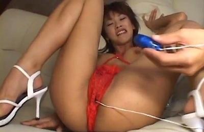 fucked,hot milf,masturbation,moms,pussy,red lingerie,sakura,sex toys,shaved pussy,vibrator,wet pussy,