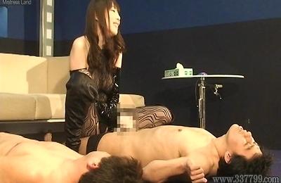 aya kisaki,bdsm,hand work,slave,