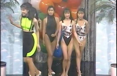 nylon,retro,swimsuit,