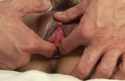 bedroom,blowjobs,brunette,creampie,hairy pussy,position 69,sex toys,