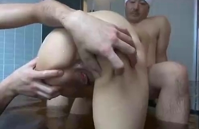 bath,foursome,group action,