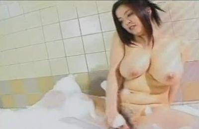 bath,big ass,big tits,fingering,hairy pussy,masturbation,