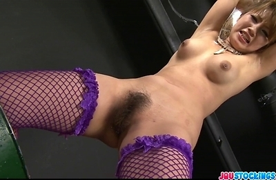 fishnet stockings,kinky,masturbation,sex,sex toys,squirting,stockings,