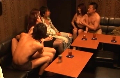amateur, couples, group action,
