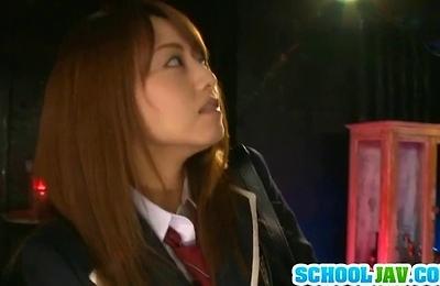 akiho yoshizawa,big cock,fucked,gangbang,hardcore action,pov,pussy,school,teenager,