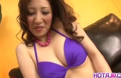 hot milf,koyuki,sex toys,