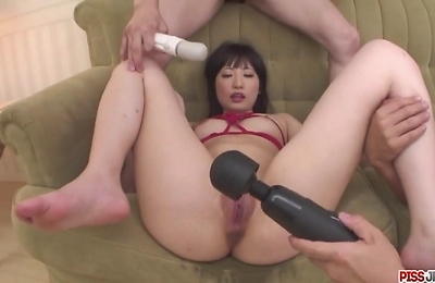 arisa, bondage, group action, squirting,