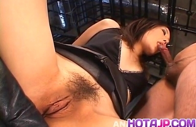 blowjob, bondage, group action, hand work, yui komine,