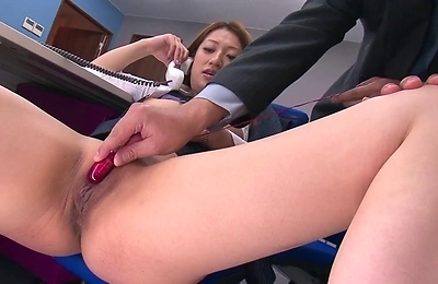 anal,blowjob,blowjobs,fucked,gangbang,group action,horny,hot,lingerie,natural tits,nylon,office,sex toys,trimmed pussy,vibrator,
