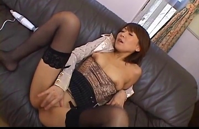 horny, hot milf, jun kusanagi, masturbation,