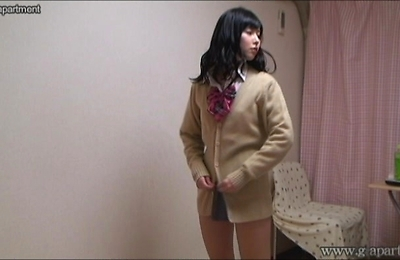 hidden cams, uniform, uniforms, upskirts, voyeur, yurina,